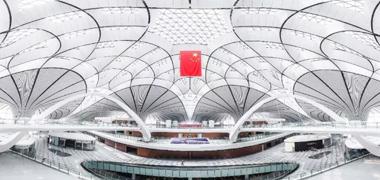 献礼祖国华诞70周年,Visionboard高性能电容屏助力北京大兴国际机场!